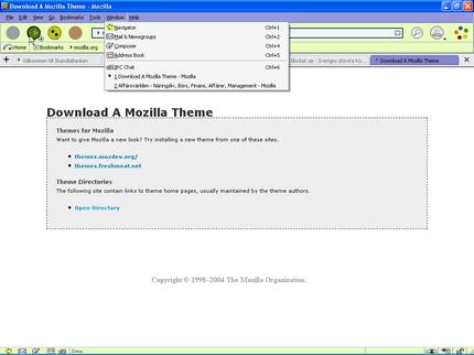 Byta tema i Mozilla