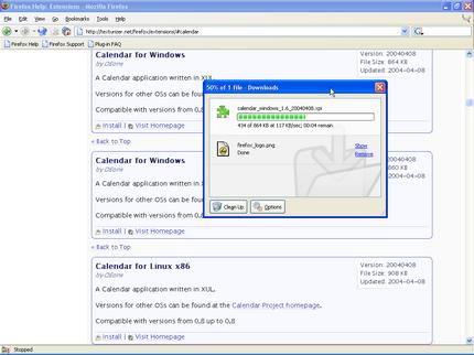 Firefox insticksprogram