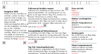 Designårets webbplats utan bilder